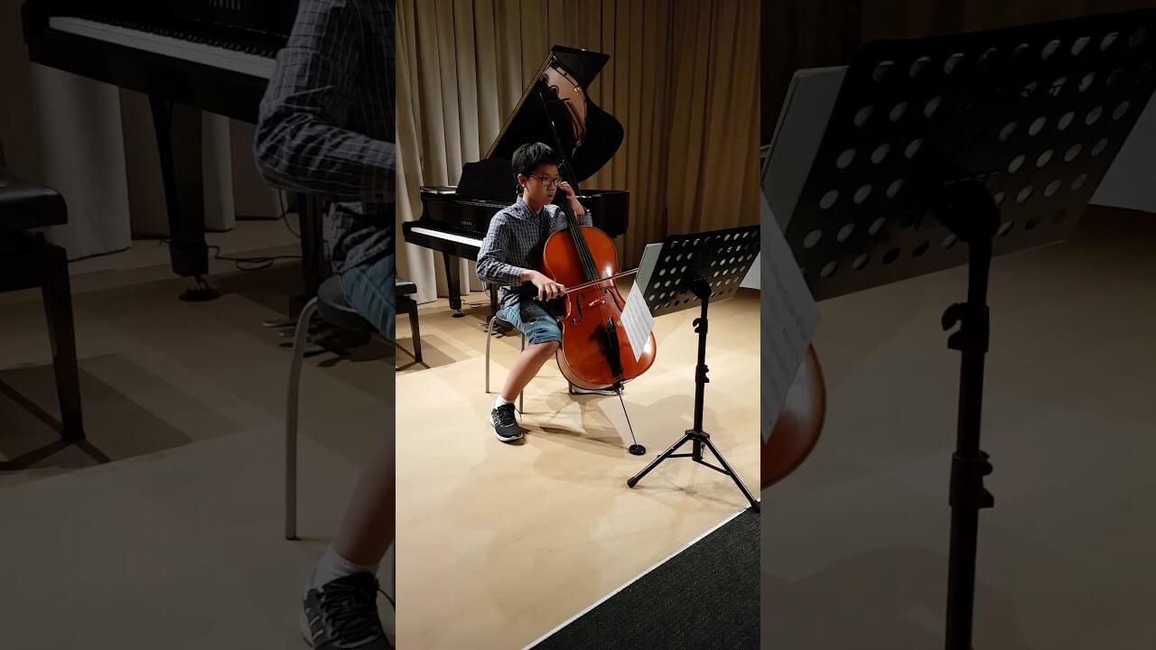 Bach Suites No 3 in C Courante